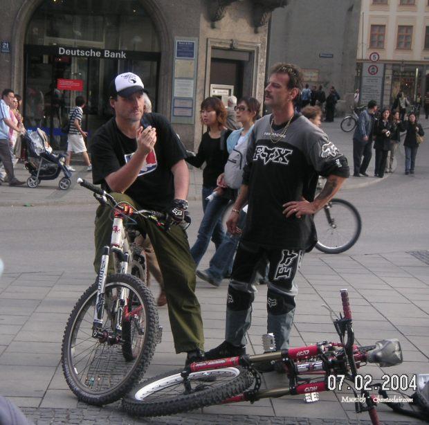Bikers, just 'Chillin'