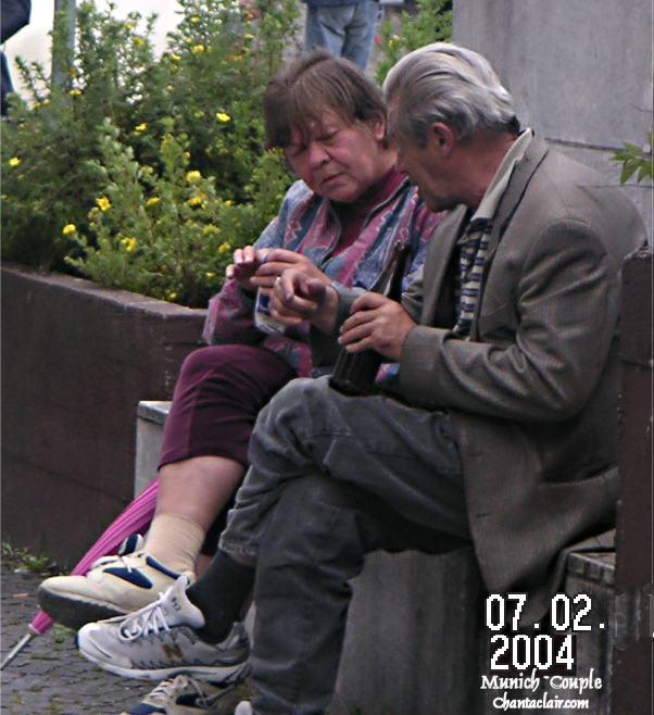 Older Couple enjoying the day