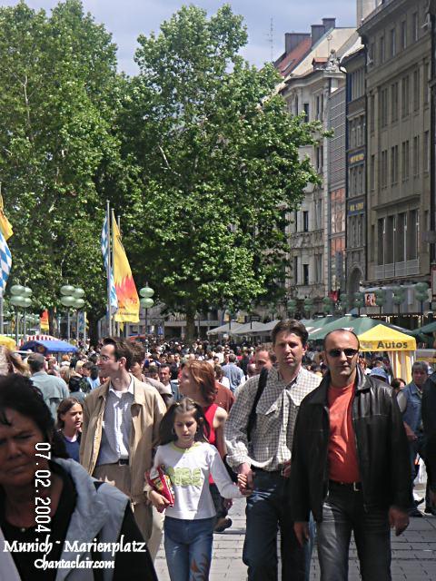 Marienplatz Crowd